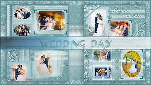 День свадьбы - проект для ProShow Producer