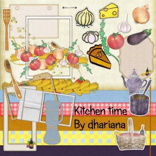 Кулинарный скрап-набор - Kitchen Time