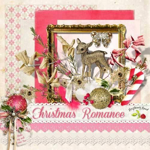 Новогодний скрап-набор - Романтика Рождества