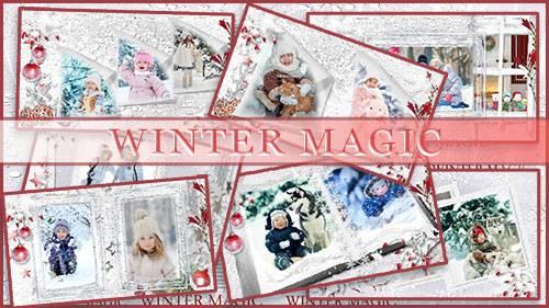 Зимнее волшебство - проект для ProShow Producer