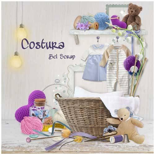 Детский скрап-набор - Costura