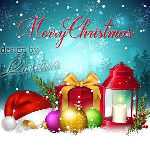 PSD исходник - Новый год нам дарит волшебство 9