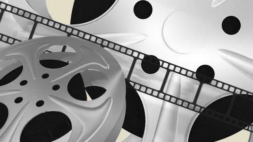 Видео футаж - Кинолента