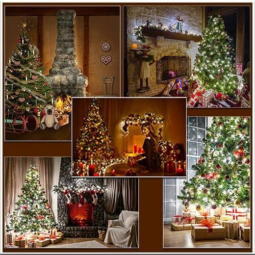 Комната в новогоднем убранстве - Christmas room