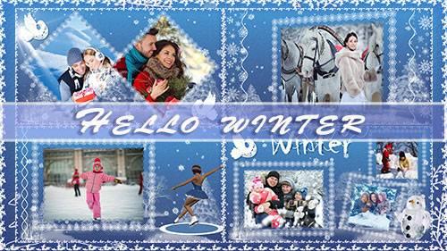Здравствуй, зима! - проект для ProShow Producer