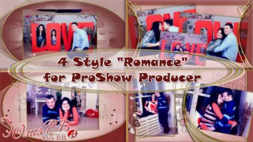 Стили для ProShow Producer - Романтика