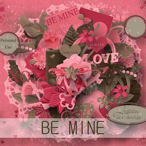 Романтический скрап-набор - Будь моей