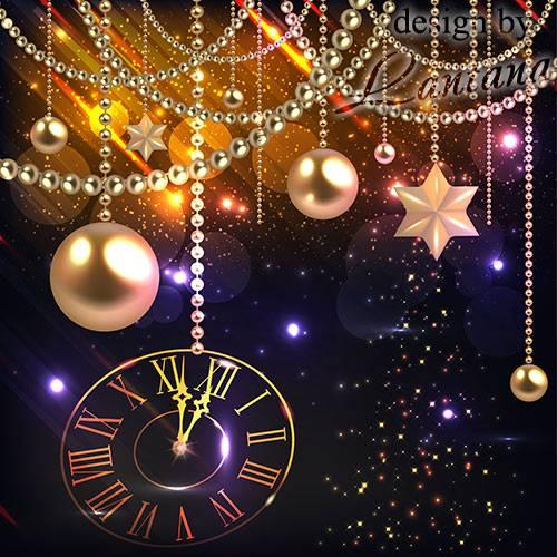 PSD исходник - Новый год нам дарит волшебство 30