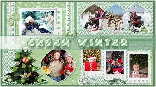 Зелёная зима - проект для ProShow Producer