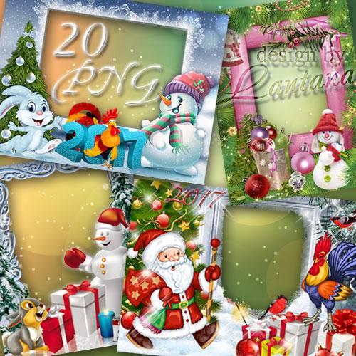 Детские рамочки - Новый год к нам мчится » Чудо Шаблоны ...: http://shop-photo.ru/frames/newyear/19161-detskie-ramochki-novyy-god-k-nam-mchitsya.html