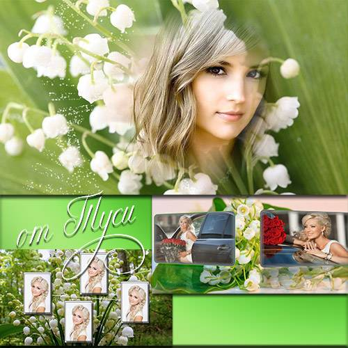 Lilies of the valley in January - Project ProShow Producer