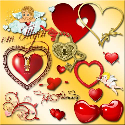 Clipart - Heart of Love