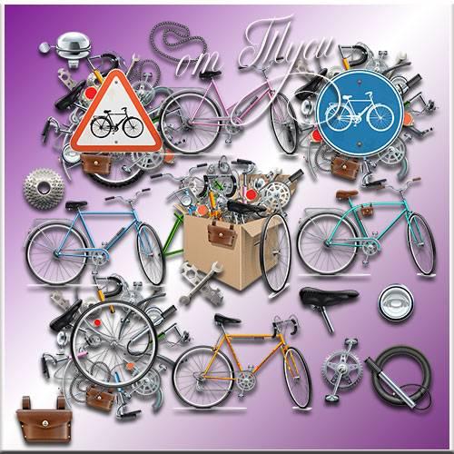 Для велосипедной прогулки - Клипарт
