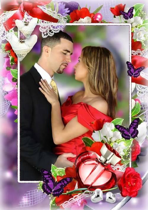 Рамка для фотошопа – Моя любовь, моя мечта