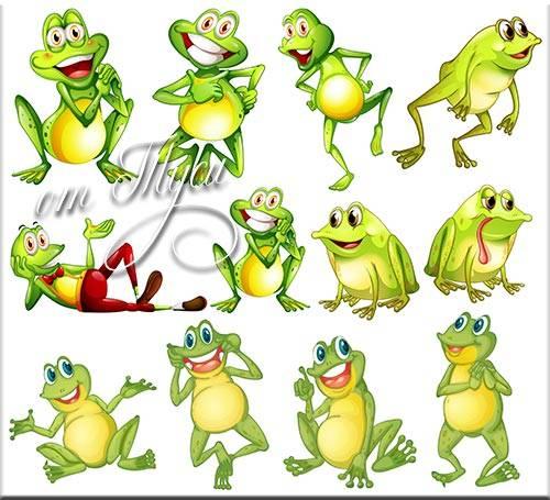 Клипарт - Лягушата