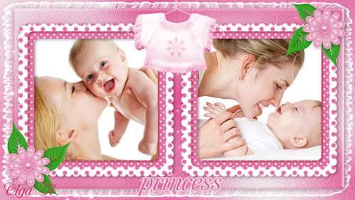 Проект для ProShow Producer - Маленькая принцесса