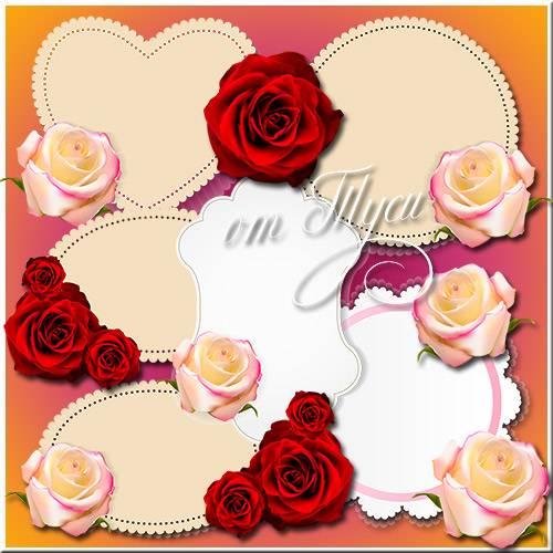 Романтические открытки для поздравлений-приглашений