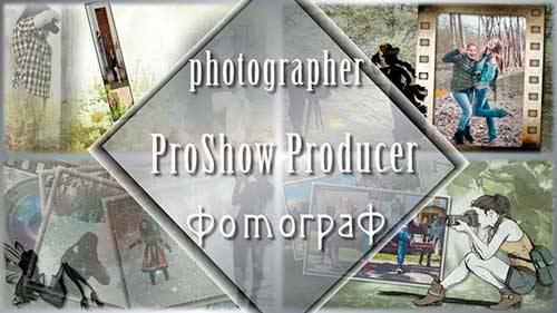 Проект для ProShow Producer - Фотограф