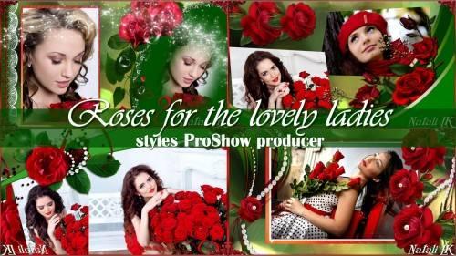 Стили для ProShow Producer - Розы для милых дам
