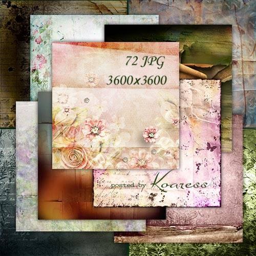 Подборка фонов для дизайна - Рваная, мятая бумага