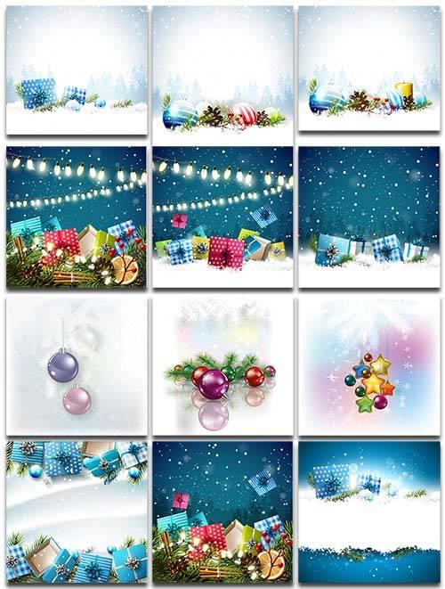 Новогодние фоны. Часть 3 / Christmas backgrounds. Part 3