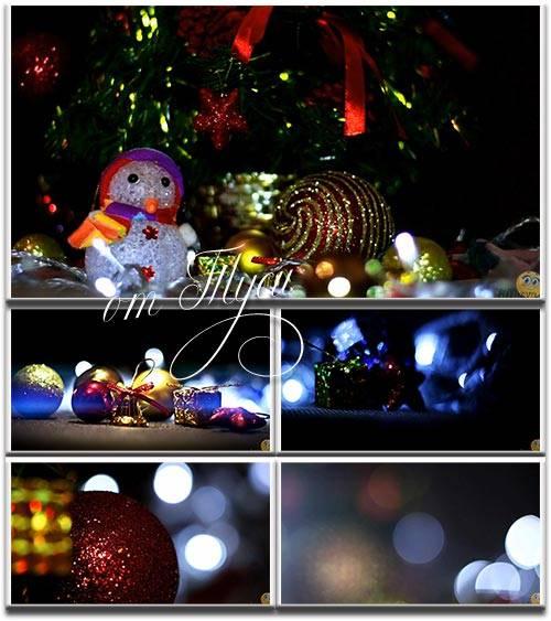 Новогодние футажи - 3 / Christmas Footage - 3