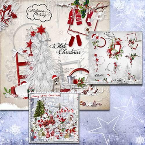 Scrap - White Christmas / Merry Little Christmas