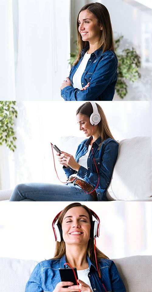 Молодая девушка - Клипарт / Young Girl - Clipart