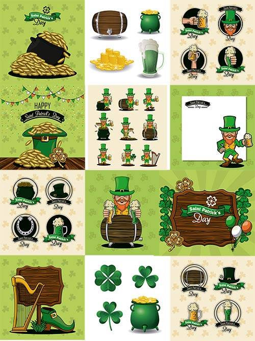 Patricks day - Vector