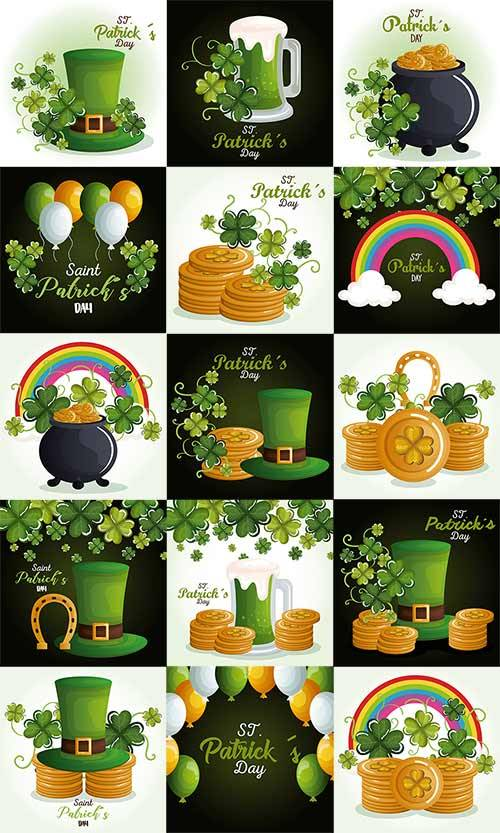 Happy Saint Patricks Day - Vector