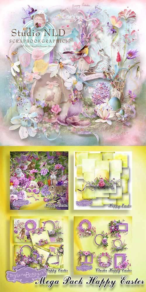 Scrap set - Easter