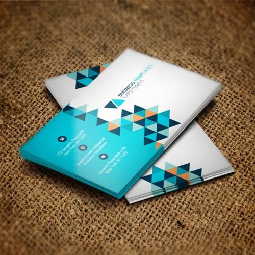 Blue pixel - business card