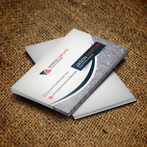Silver line - business card