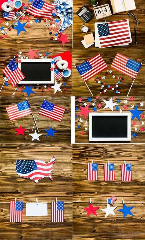 Растровый клипарт - День независимости США / Raster Graphics - US Independe ...