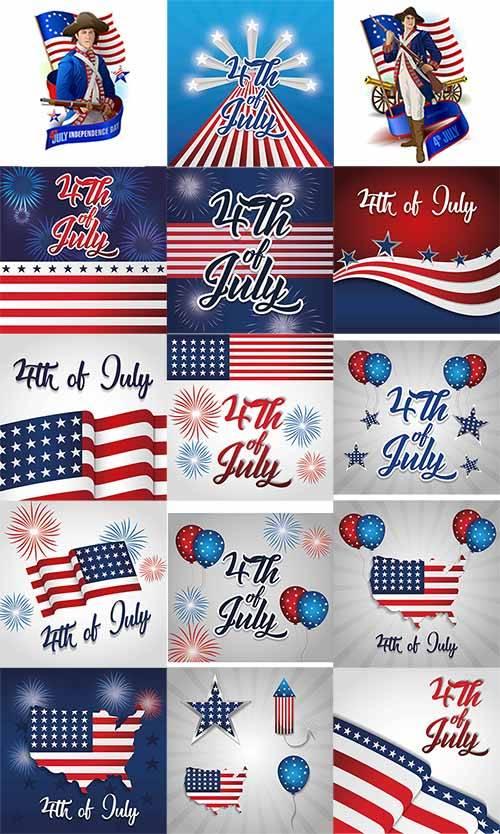 День независимости США - Вектор / US Independence Day - Vector