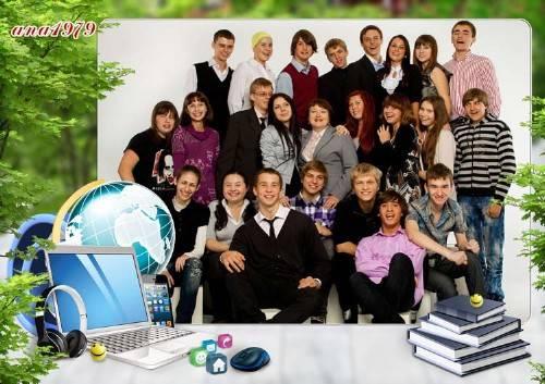 Рамка для фотошопа - Каждый снова ученик