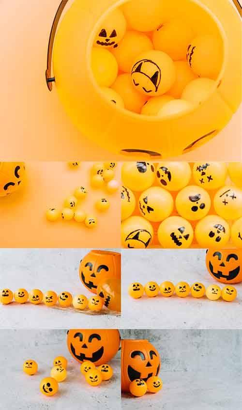 Хэллоуин - Растровый клипарт / Halloween - Raster clipart