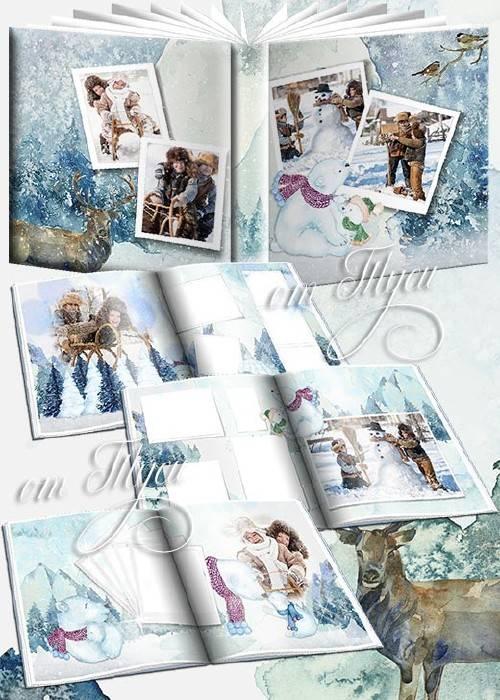 Мороз - не беда, гуляет детвора - Детский фотоальбом