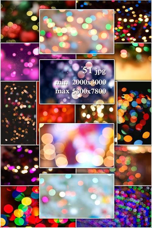 Bokeh ipg backgrounds - Фоны с эффектом боке