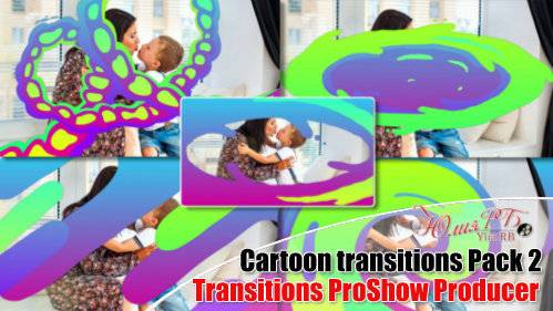 Мультяшные переходы часть 2 - переходы для прошоу продюсера