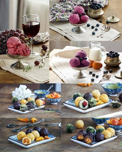 Десерт - Растровый клипарт / Dessert - Raster clipart