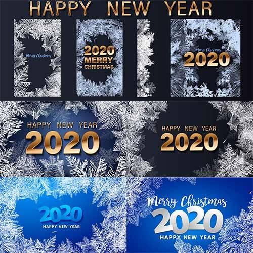 С Новым Годом 2020 - Векторный клипарт / Happy New Year 2020 - Vector Graph ...