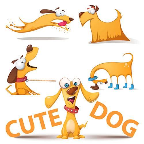 Собака - Векторный клипарт / Dog - Vector Graphics