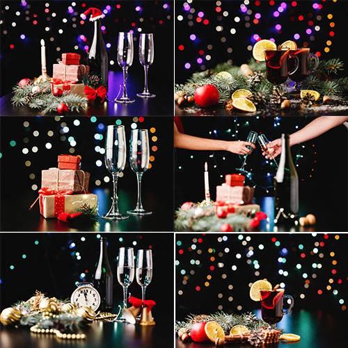 Новогодние картинки 5 - Растровый клипарт / Christmas pictures 5 - Raster G ...
