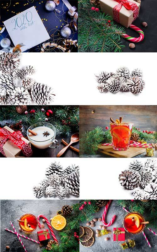 Новогодние картинки 6 - Растровый клипарт / Christmas pictures 6 - Raster G ...