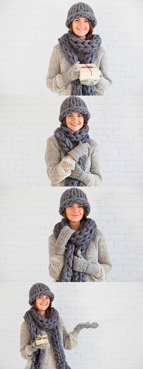 Девушка - Растровый клипарт / Girl - Raster clipart