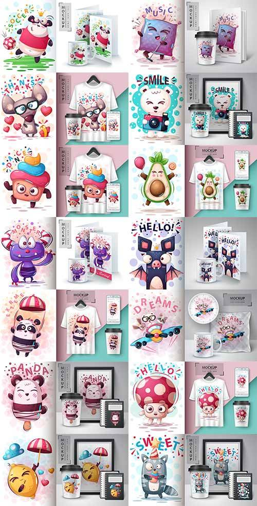 Идеи для творчества - 11 - Векторный клипарт / Ideas for creativity - 11 -  ...