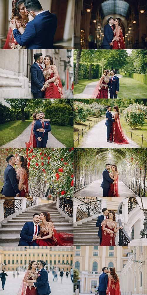 Турецкие парень и девушка - Фотоклипарт