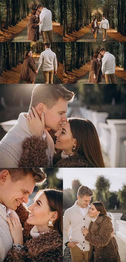 Свидание влюблённых - Фотоклипарт
