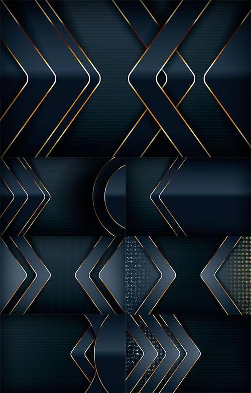 Совершенство цвета и линий - Векторные фоны